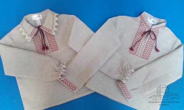Детские рубашки с вышивкой