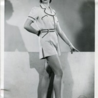 """Фотография модели в пляжном костюме """"Saint-Tropez"""" (""""Сен-Тропе"""") от """"Фредди-Спорт"""""""