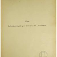 """Zum fünfundzwanzigjährigen Bestehen der """"Modenwelt"""", 1865–1890"""