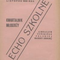 Echo Szkolne   kwartalnik młodzieży Gimnazjum Żeńskiego_31.pdf