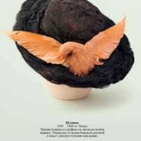 Черная шляпка из шифона.jpg